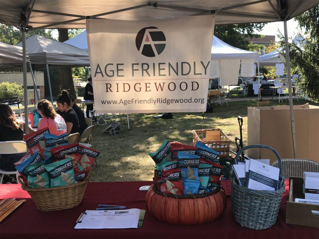 Age Friendly Ridgewood at Ridgewood Health Event Fall 2019