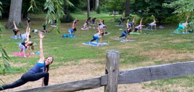 AFR Yoga in the Park