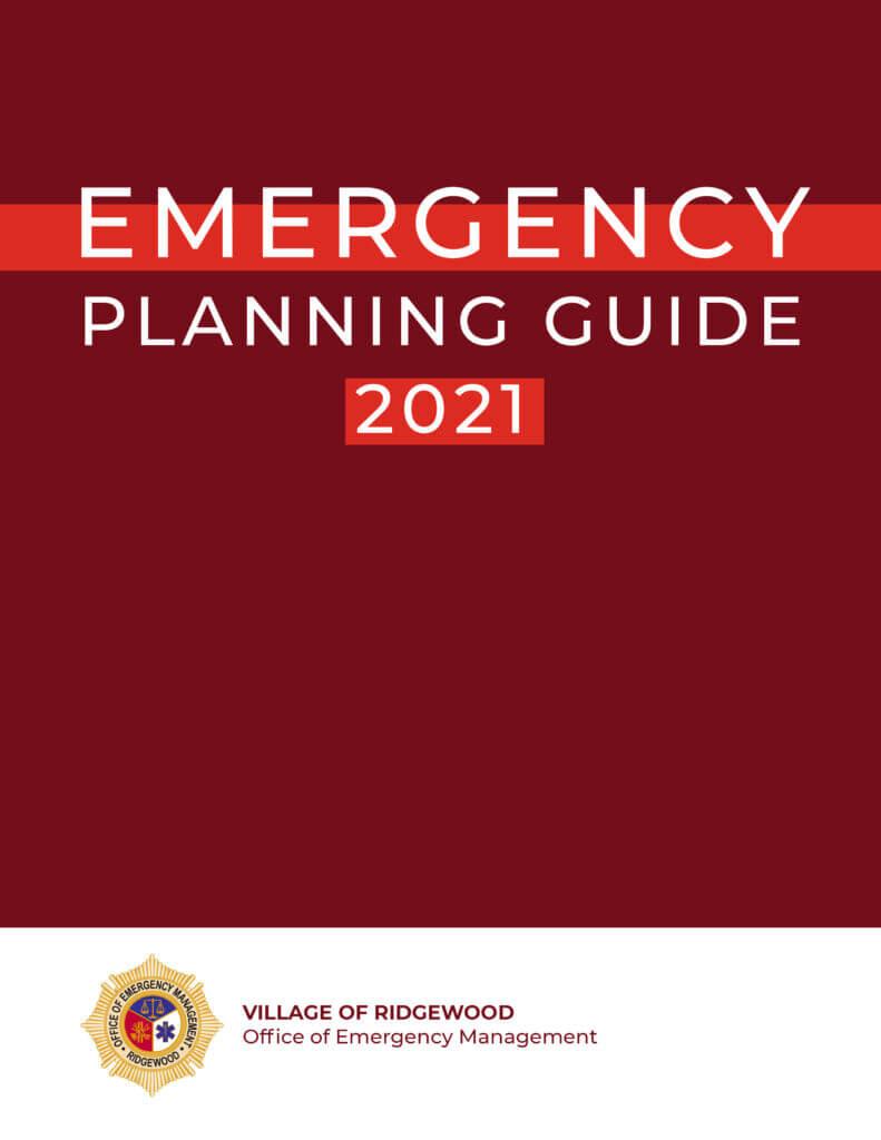 Ridgewood Office of Emergency Management Emergency Planning Guide